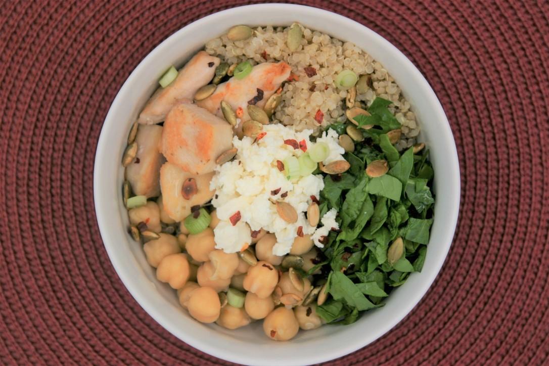 Quinoa Spinach Salad 2